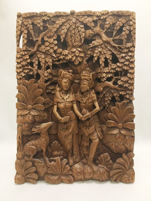 Asian Wood Carving
