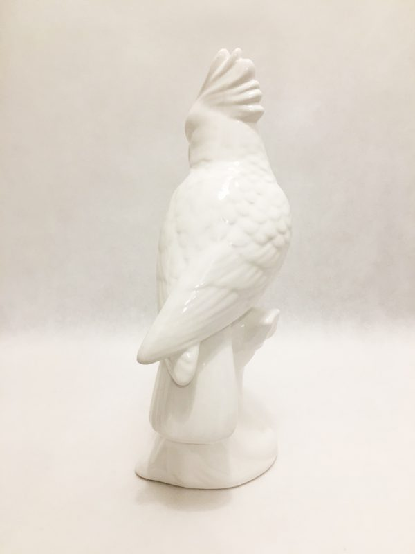 White Porcelain Birds Pair