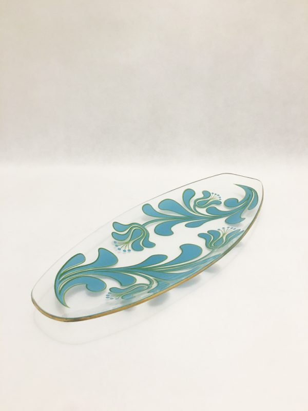 Retro Vintage Glass Dish 1